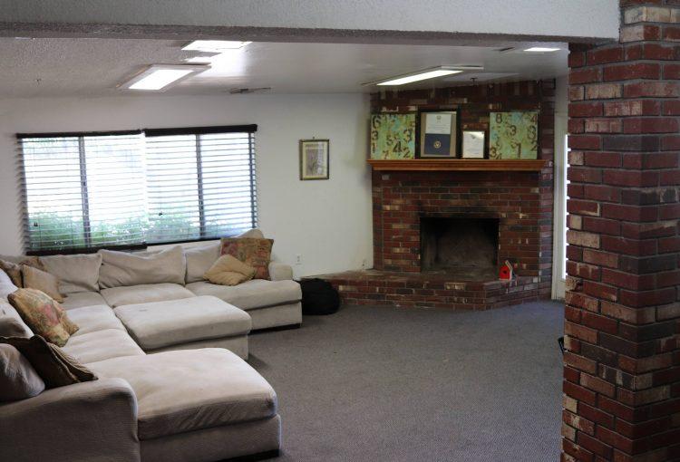 inside of open house