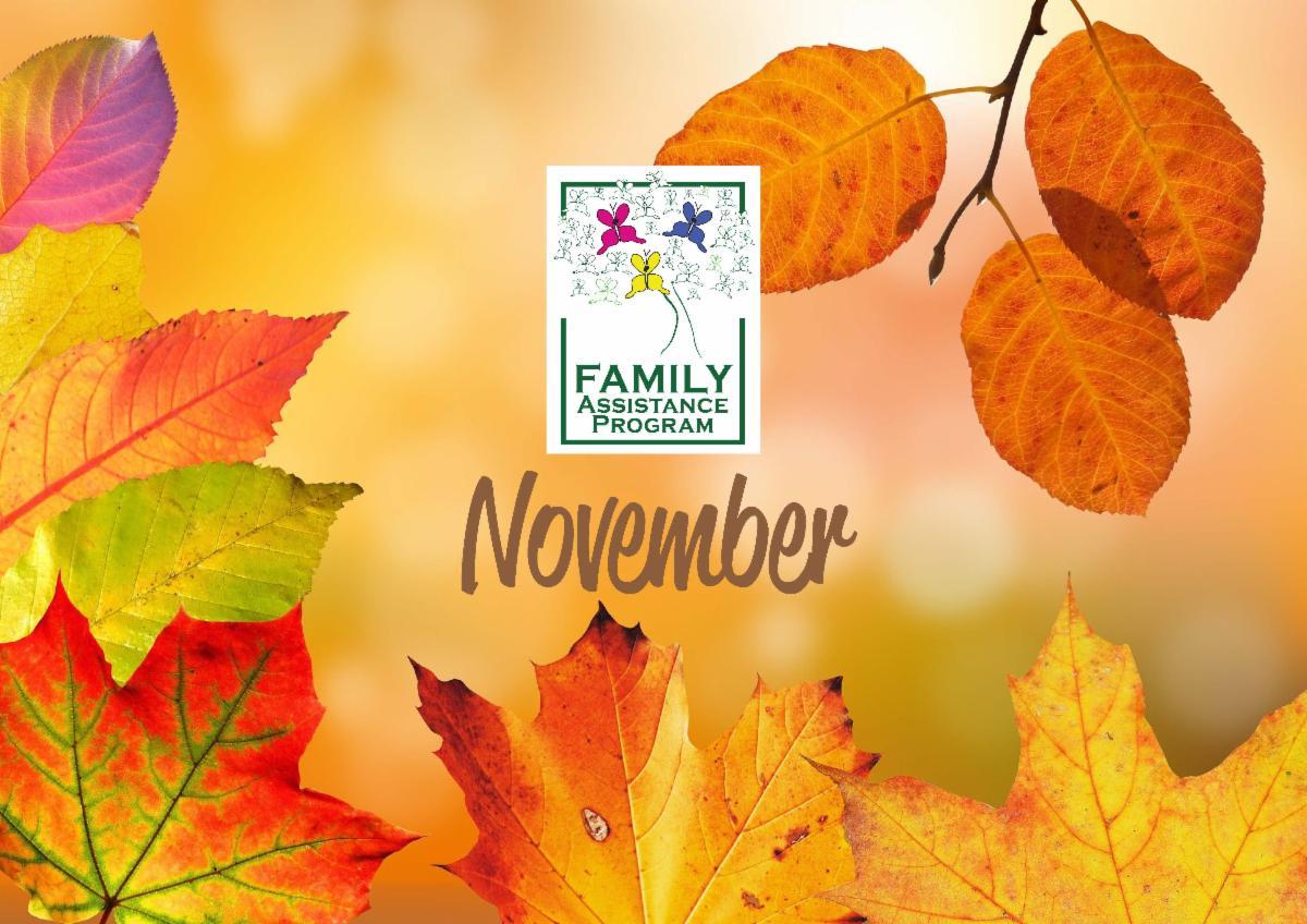 2020 November Newsletter